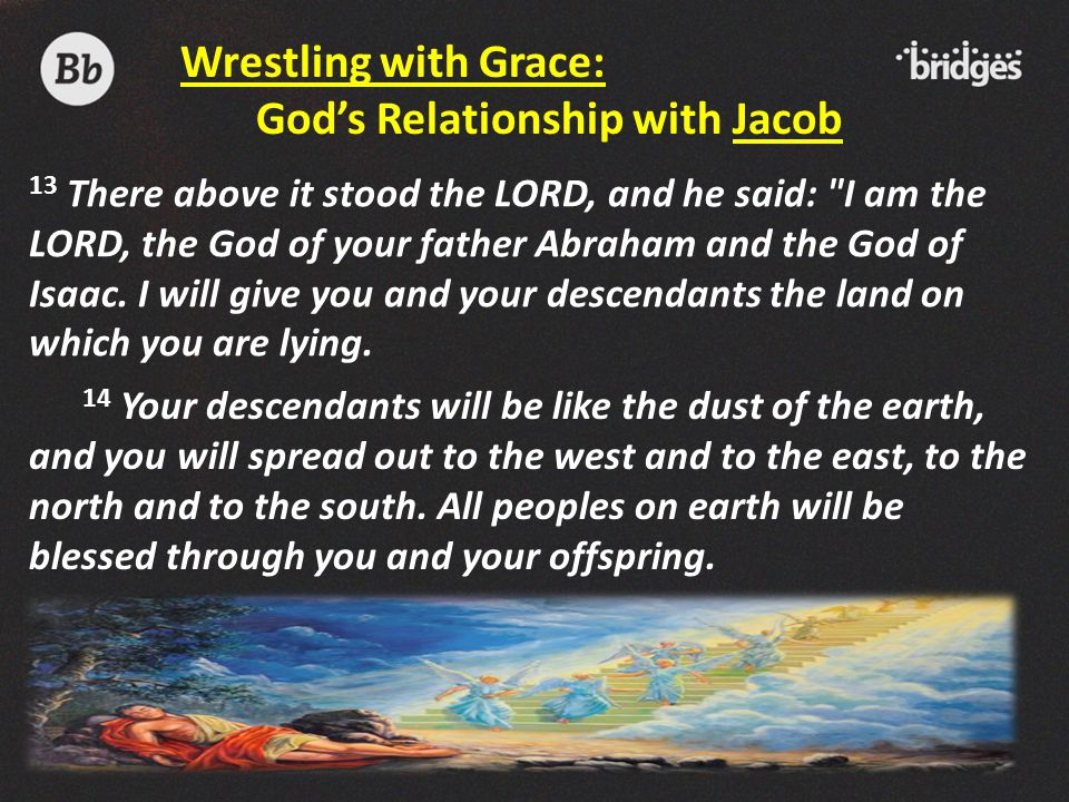 14 Your descendants will be like the dust of the earth, and you will spread out to the west and to the east, to the north and to the south. All people