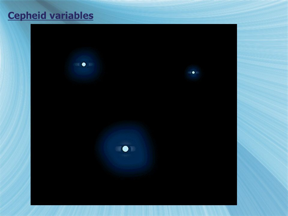 Cepheid variables