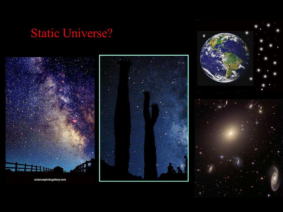 Static Universe?