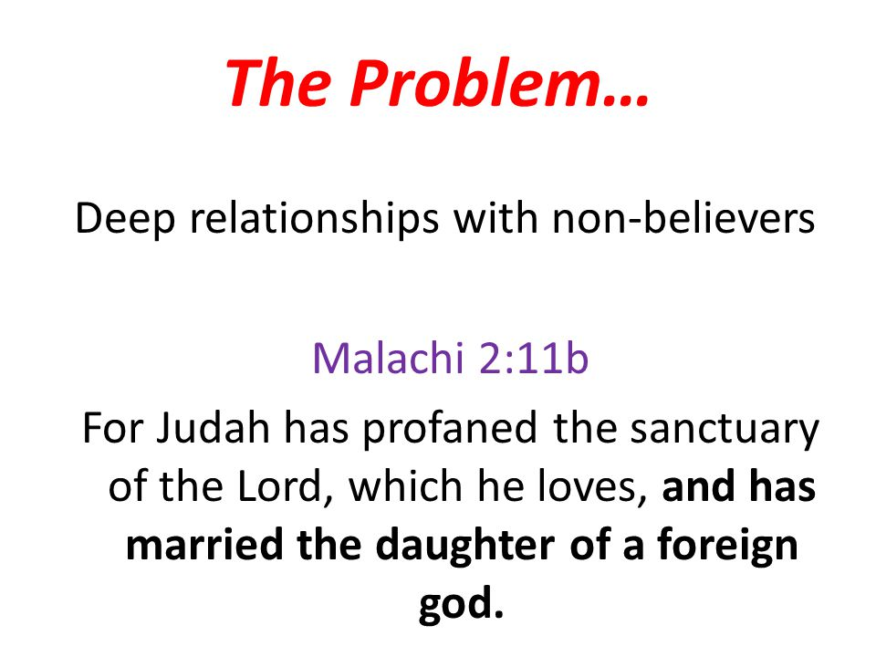 The Biblical View… Remain faithful in your marriage To not be faithful is to dishonor the other and to dishonor God It is necessary to be faithful in order to serve the other