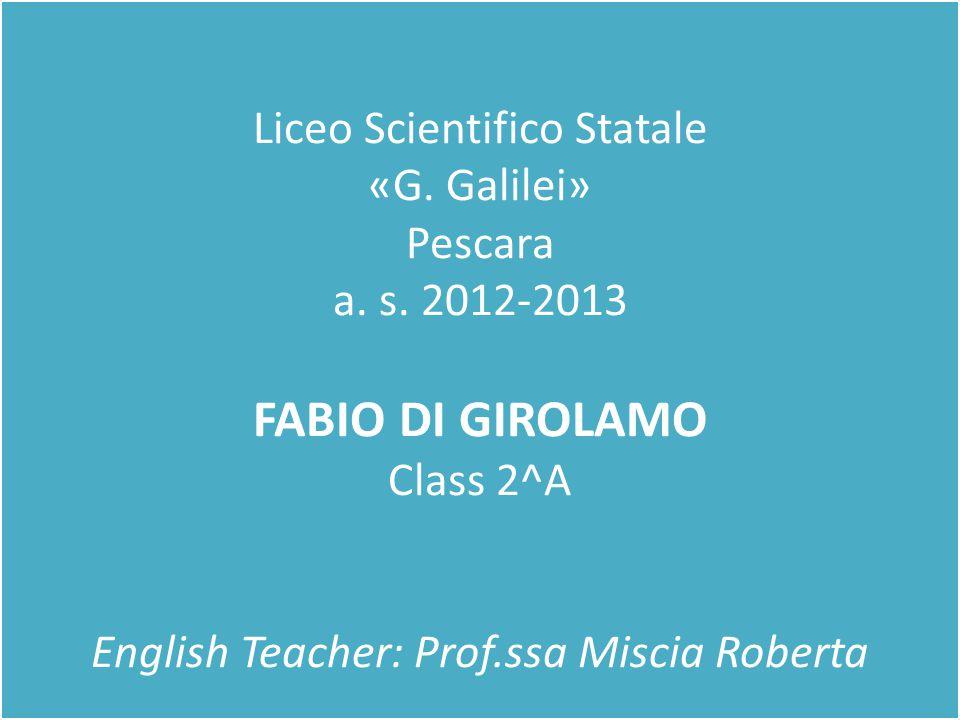 Liceo Scientifico Statale «G.Galilei» Pescara a. s.