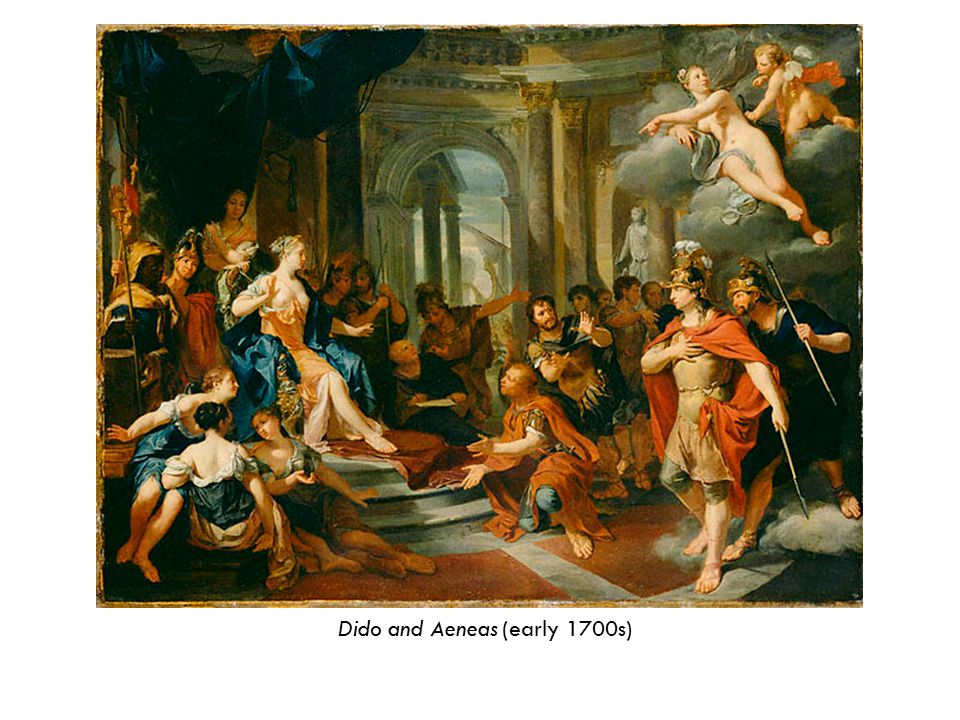 Dido and Aeneas (early 1700s)