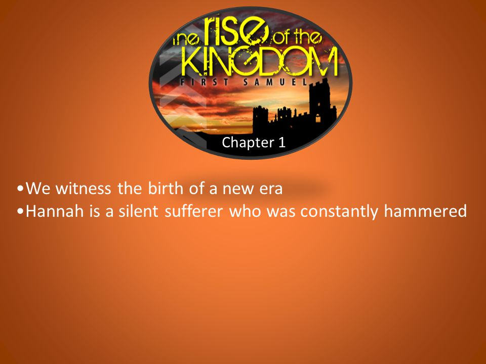 Chapter 12 What is the deepest foundation of God's faithfulness.