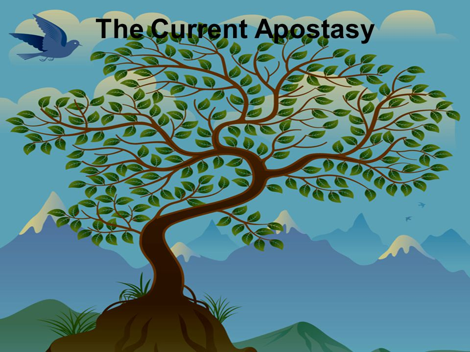 The Current Apostasy