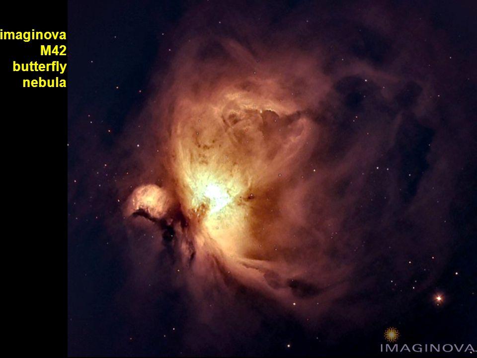imaginova M42 butterfly nebula
