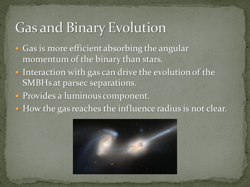 Gas is more efficient absorbing the angular momentum of the binary than stars.