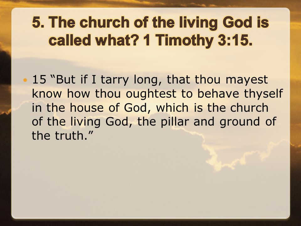 As we begin this lesson, notice should be given to three specific characteristics of God's church in its early days.