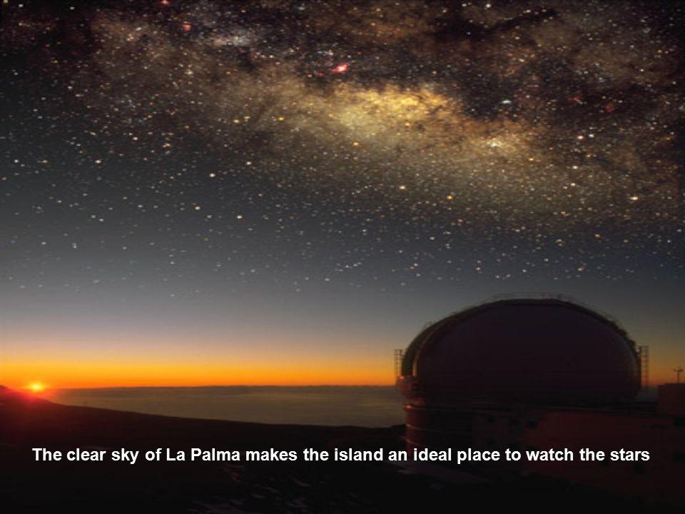 Telescope Galileo Grantecan (largest telescope Of the Canary Islands)