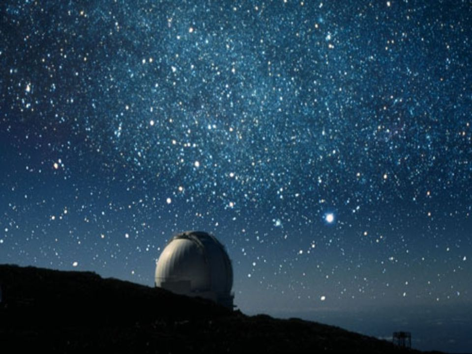 The clear sky of La Palma makes the island an ideal place to watch the stars