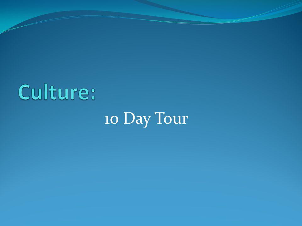 10 Day Tour