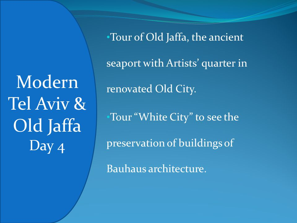Tour of Old Jaffa, the ancient seaport with Artists' quarter in renovated Old City.