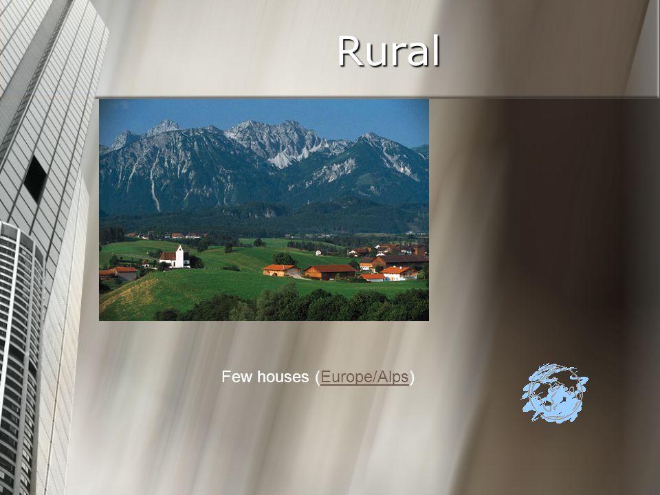 Rural Few houses (Europe/Alps)Europe/Alps