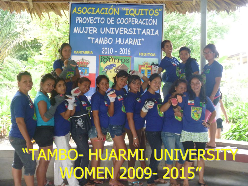 """TAMBO- HUARMI. UNIVERSITY WOMEN 2009- 2015"""