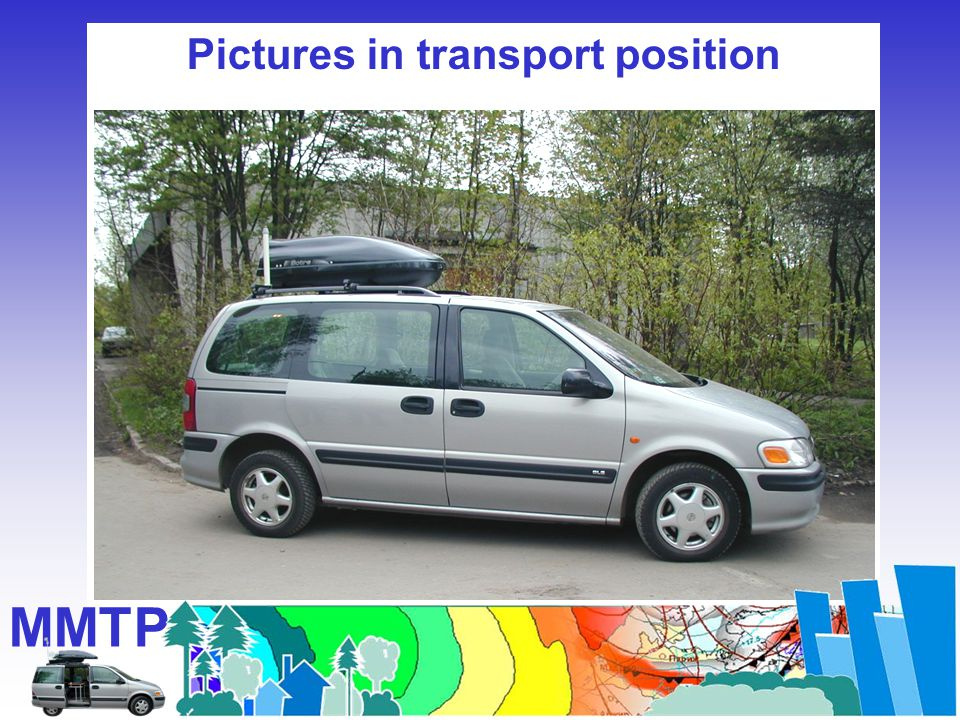 Pictures in transport position MMTP