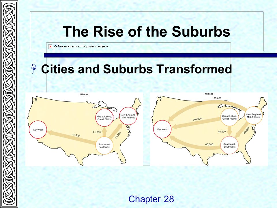 The Rise of the Suburbs  Cities and Suburbs Transformed Chapter 28