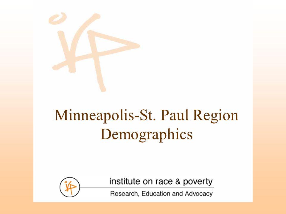 Minneapolis-St. Paul Region Demographics