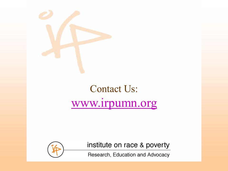 Contact Us: www.irpumn.org www.irpumn.org