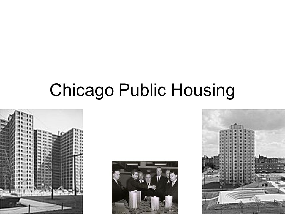 The 1950s Housing Act.