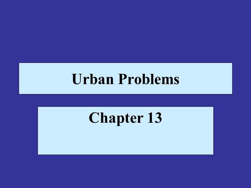 An Urbanizing World The U.S.