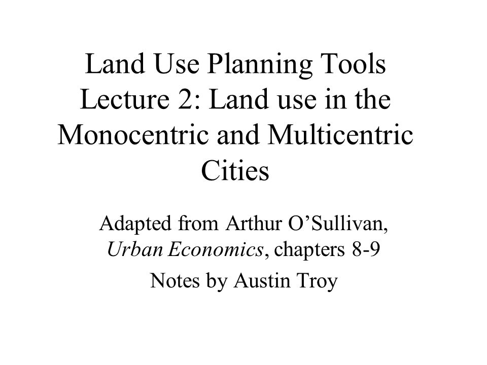 Additional factors pulling manufacturing towards suburbs Single story plants using assembly line production; require more land than traditional multi story plants Airports: require a lot of land and tend to be on fringes; many firms transport by air freight Cars: with demise of hub and spoke streetcar system, firms now locate where they are most reachable by car: highway exits.