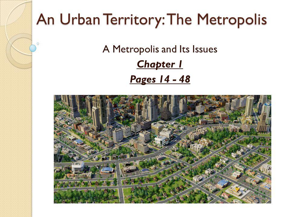 Homework Urban Growth & Urban Sprawl Pages 58-60 A – F