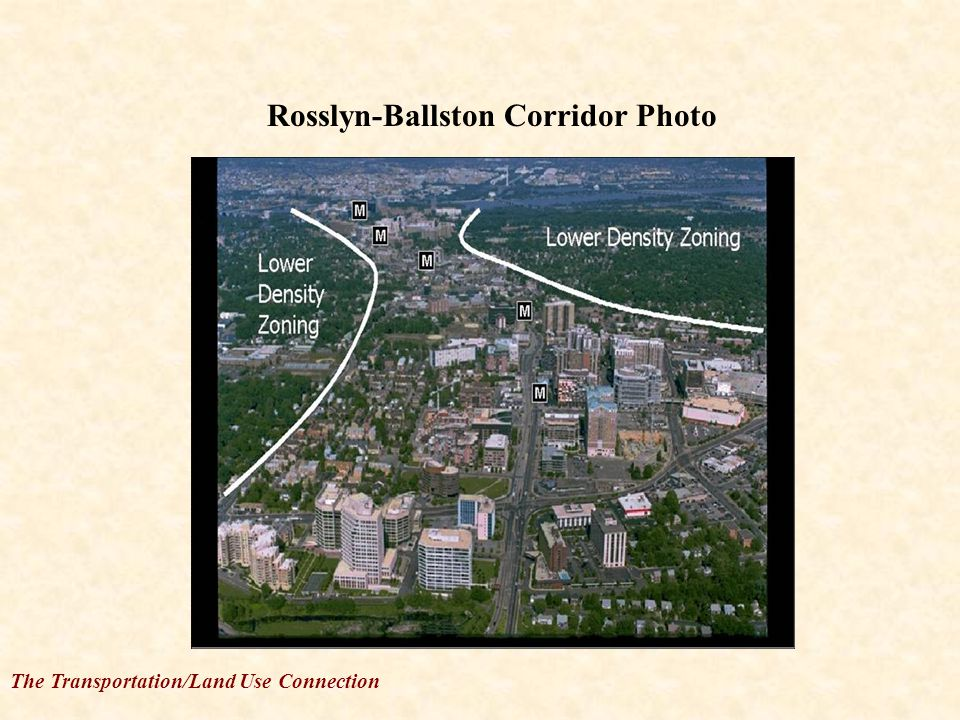 The Transportation/Land Use Connection Rosslyn-Ballston Corridor Photo
