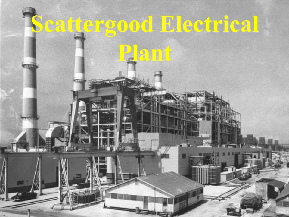 Scattergood Electrical Plant