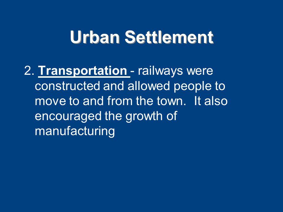 Urban Settlement 2.