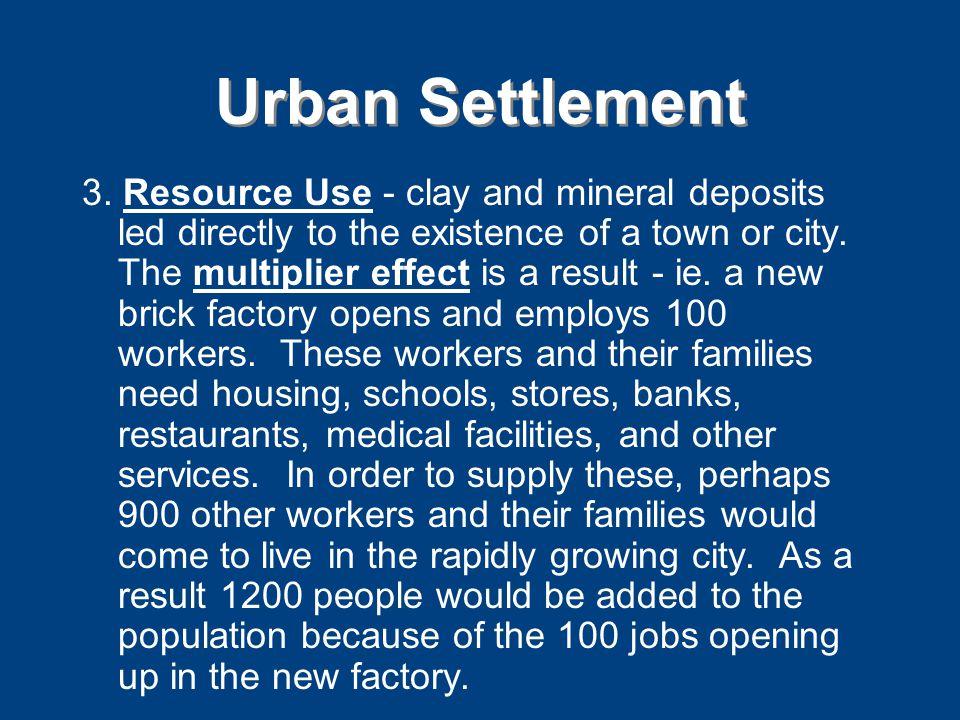 Urban Settlement 3.