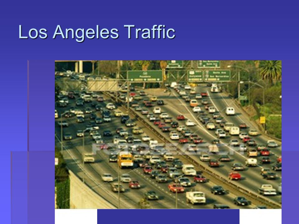 Copyright © 2012 Pearson Education, Inc. All rights reserved. Los Angeles Traffic