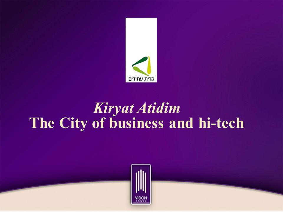 Kiryat Atidim The City of business and hi-tech