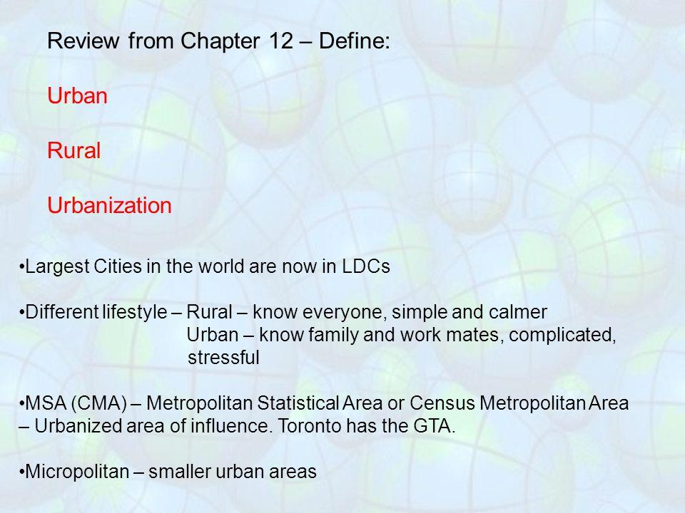 Smart Growth – New Urbanism: A new form of development to fight the negative effects of Urban Sprawl.