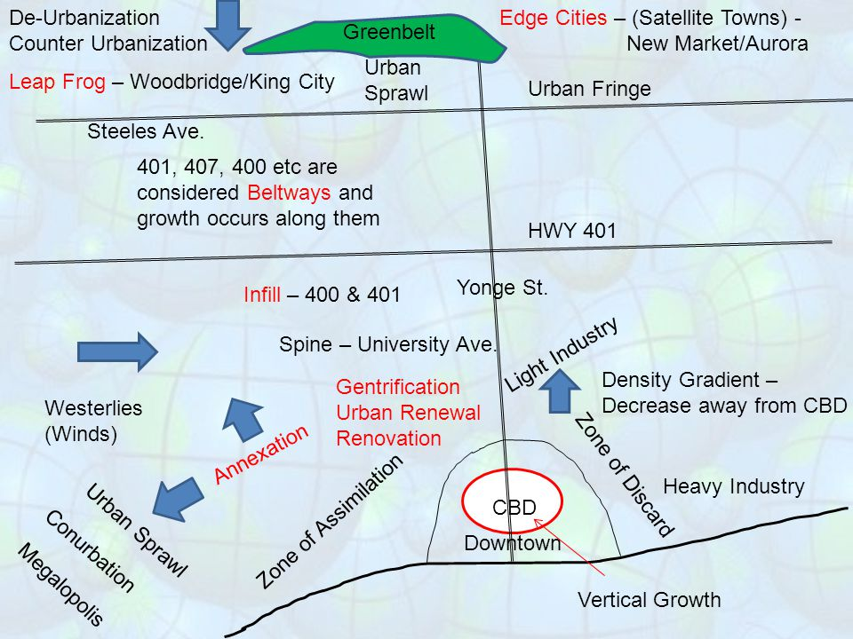 Social area analysis: The distribution of social characteristics in a census track may be plotted on a map using GIS.