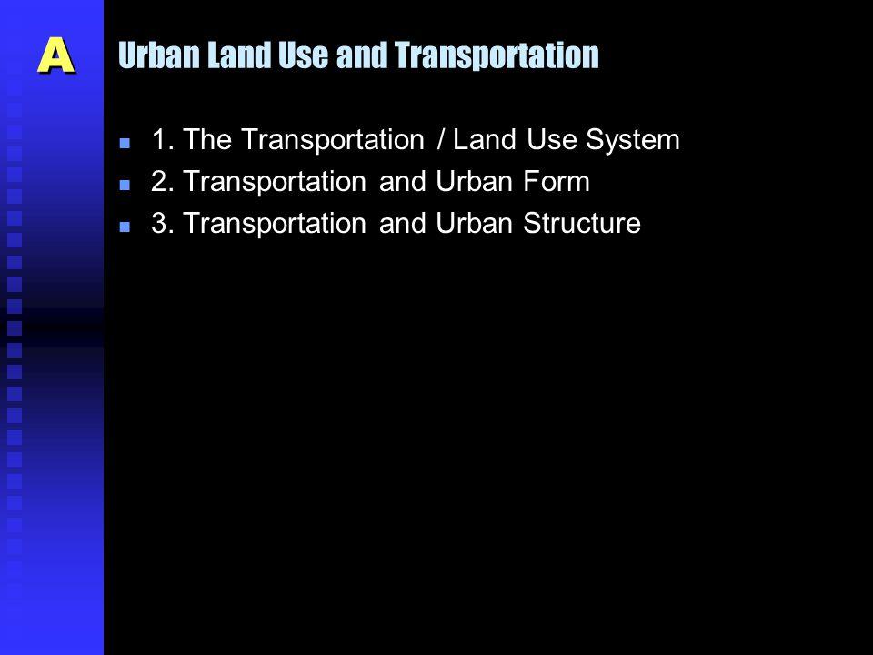 Urban Transportation Environmental Challenges n Public transit u Drop of speed of surface public transportation.
