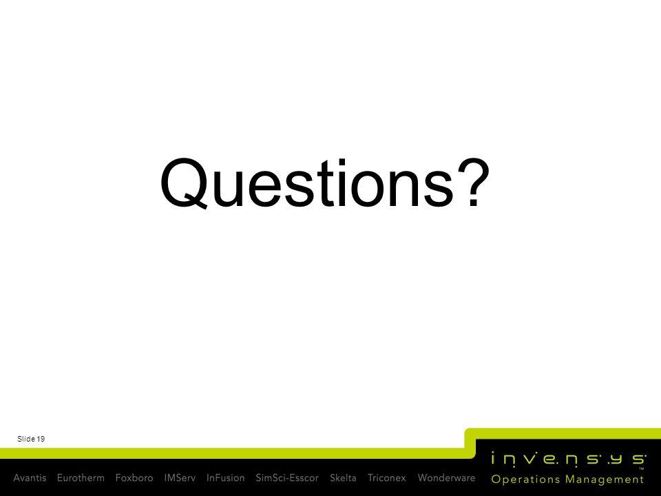 Slide 19 Questions