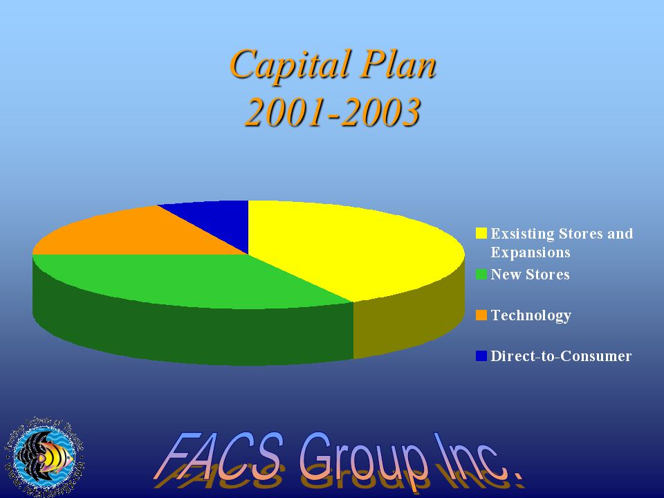 Capital Plan 2001-2003