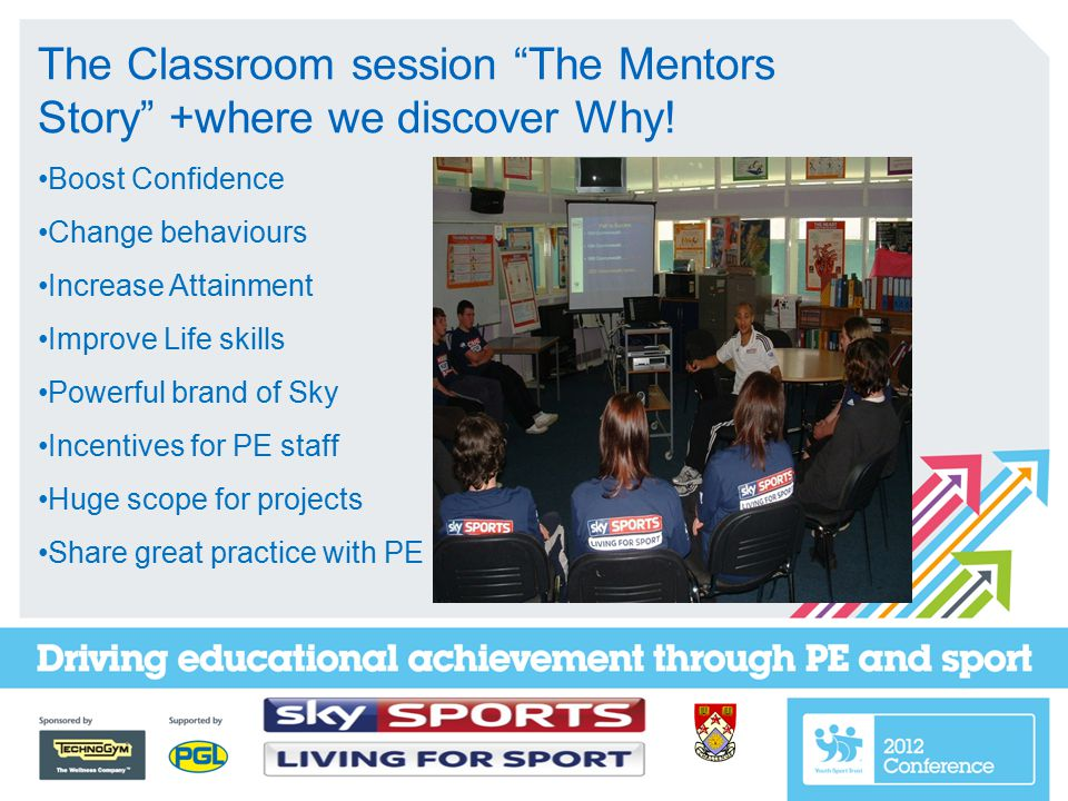 The Classroom session The Mentors Story +where we discover Why.