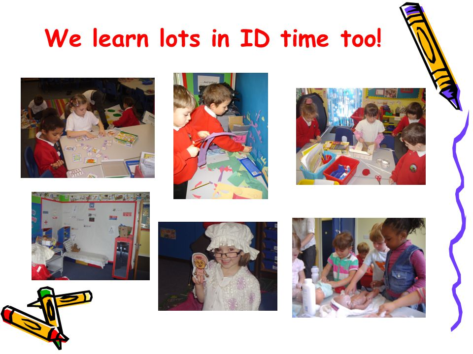 We learn lots in ID time too!