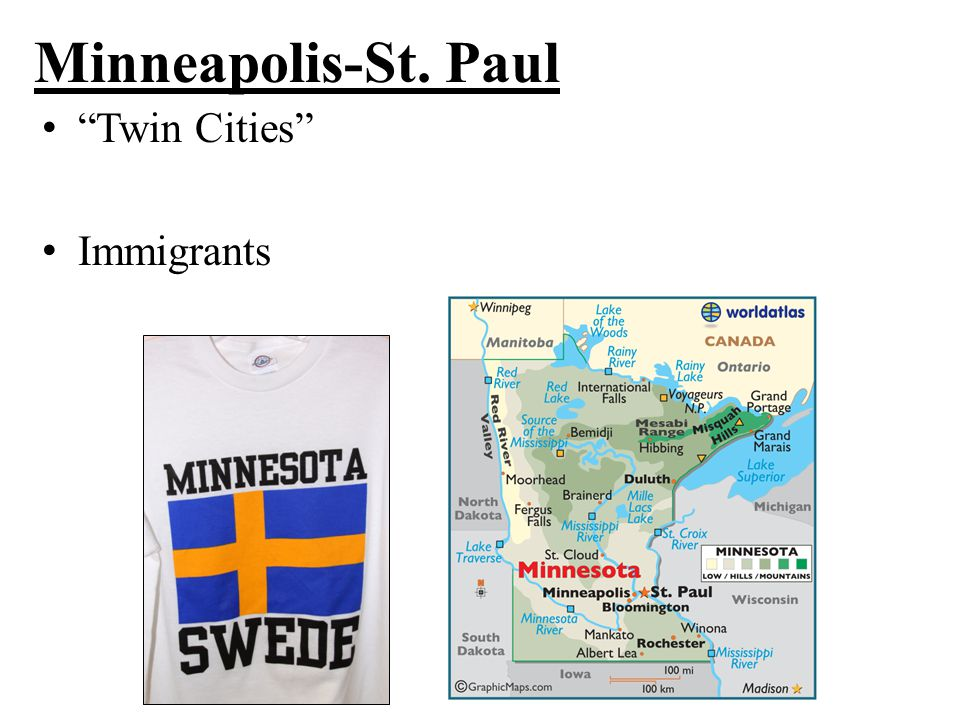 "Minneapolis-St. Paul ""Twin Cities"" Immigrants"