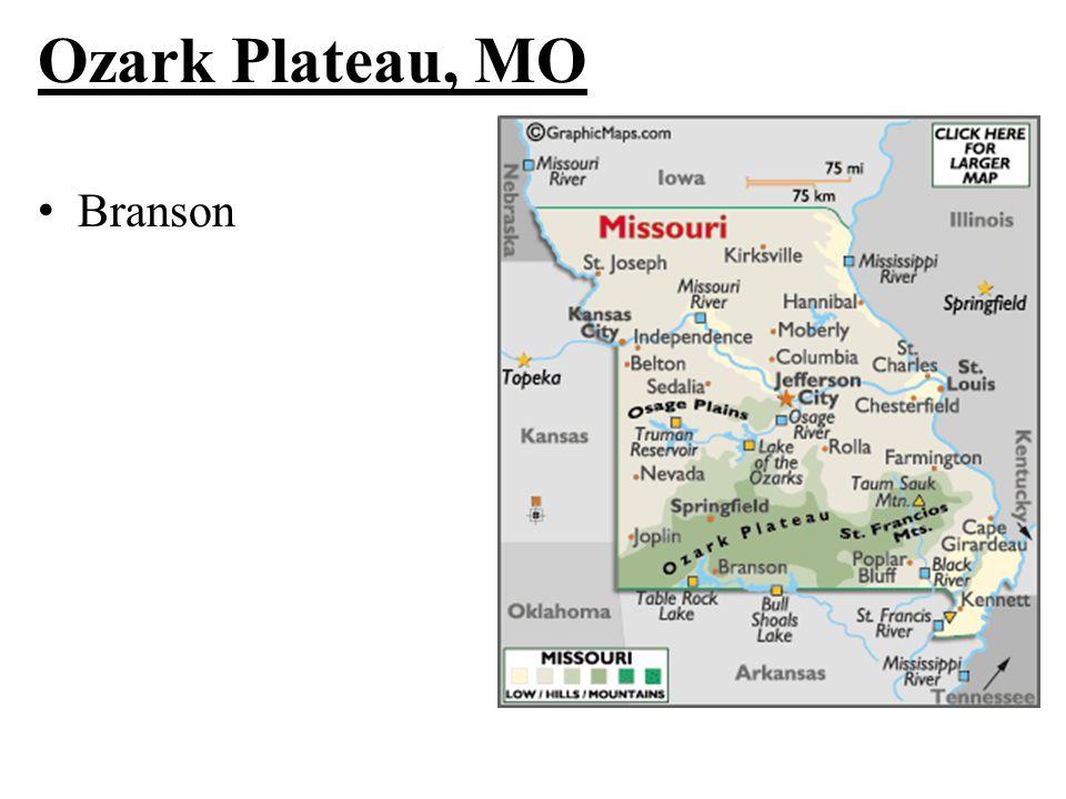 Ozark Plateau, MO Branson
