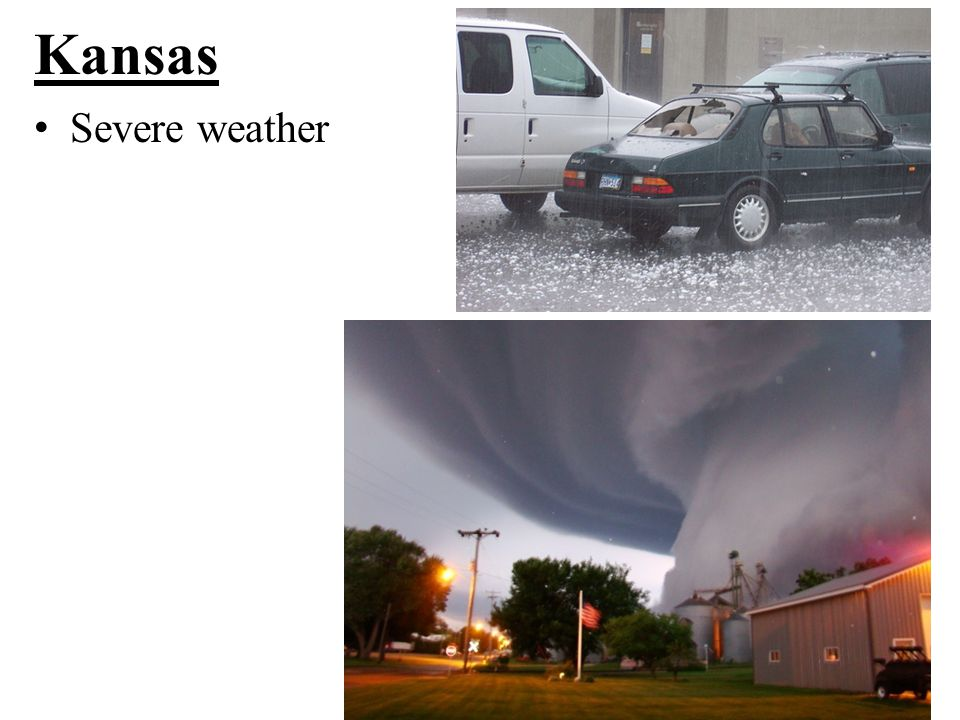 Kansas Severe weather