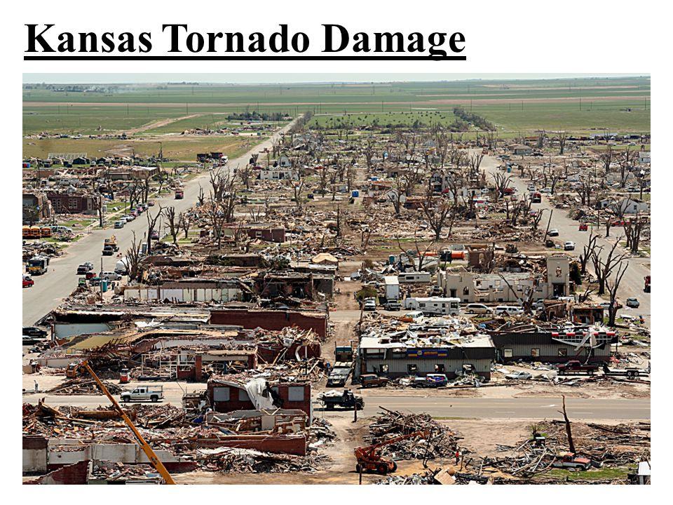 Kansas Tornado Damage
