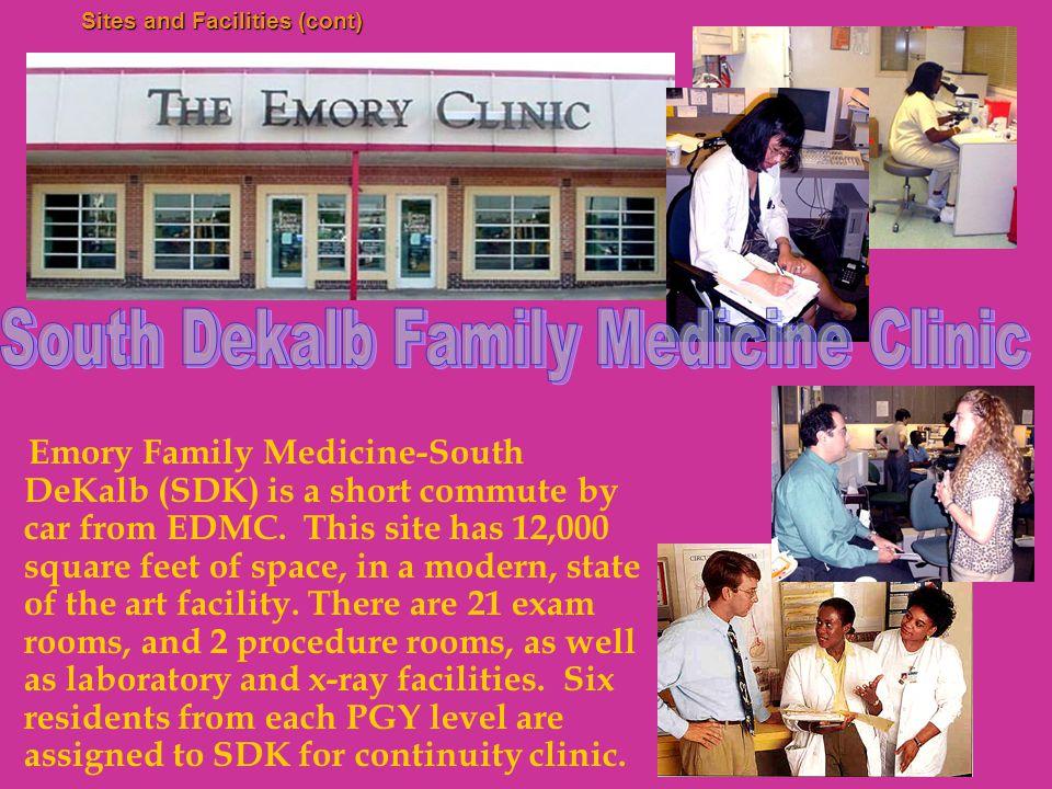 Family Medicine Clinics - Procedures Residents learn casting and splinting, exercise treadmills, colposcopy, flexible sigmoidoscopy, and nasopharyngo-laryngoscopy during their residency training.
