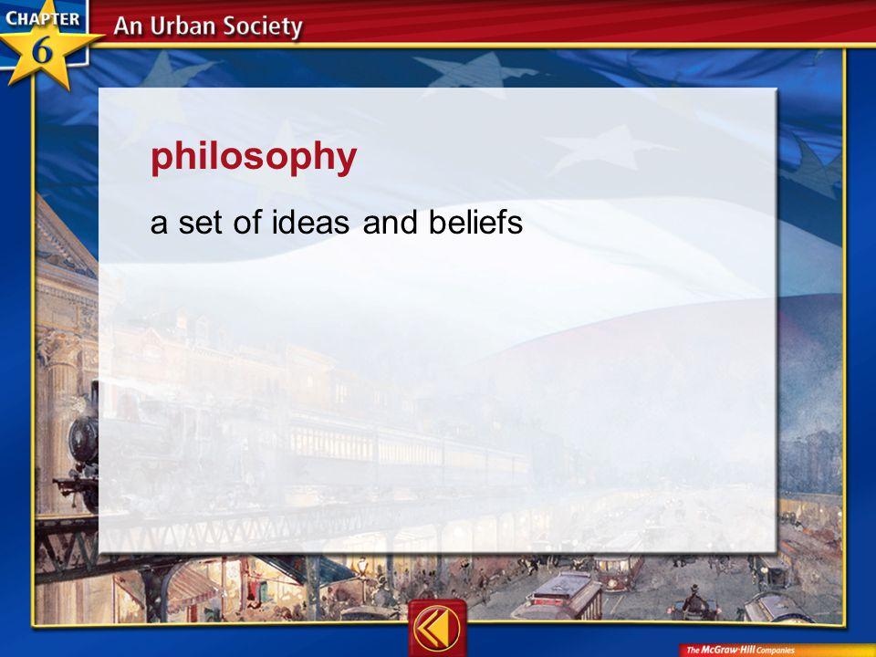Vocab24 philosophy a set of ideas and beliefs