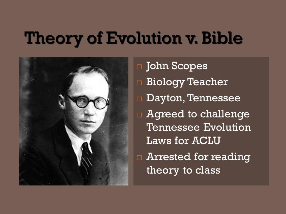 Theory of Evolution v.