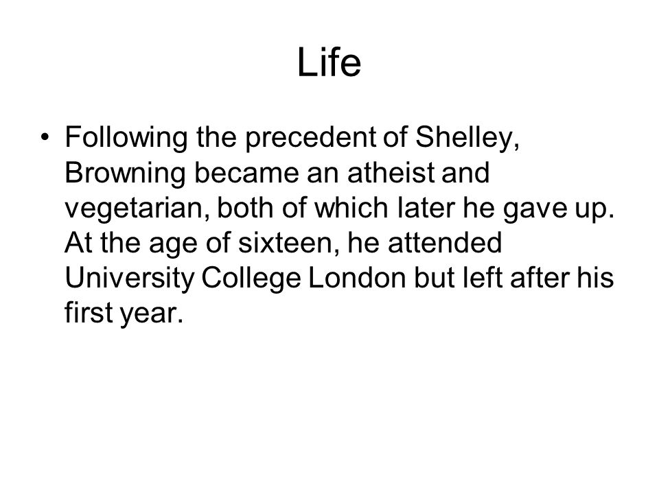 Life His mother's staunch evangelical faith prevented his studying at either Oxford University or Cambridge University, both then open only to members of the Church of England.