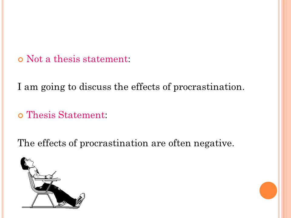 How Do You Do A Thesis Statement