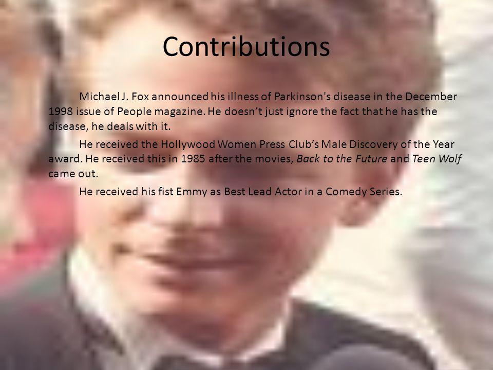 Contributions Michael J.