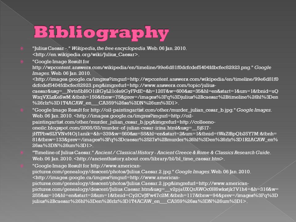  Julius Caesar -. Wikipedia, the free encyclopedia.