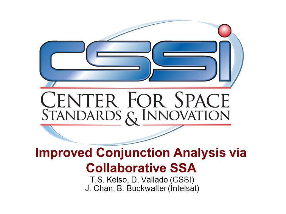Improved Conjunction Analysis via Collaborative SSA T.S.